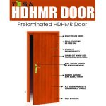 Action Tesa HDHMR Doors- Prelaminated