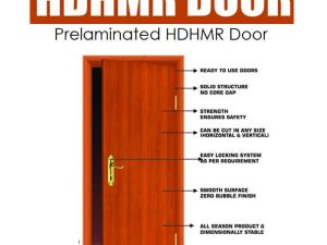 Action Tesa HDHMR Doors- Prelaminated