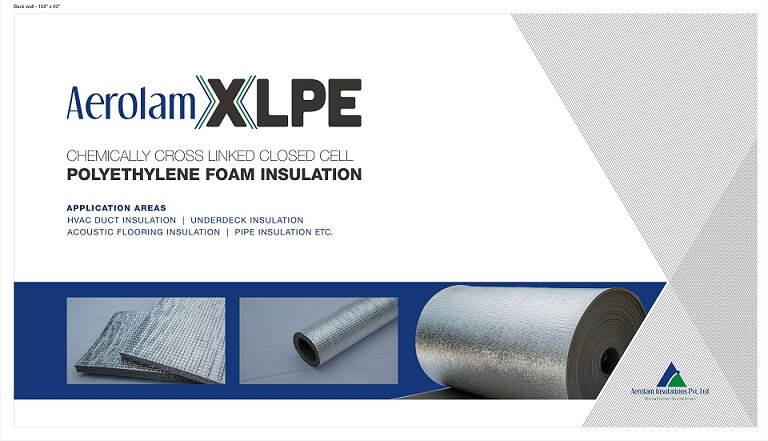 Aerolam Heat Insulation XLPE Sheet