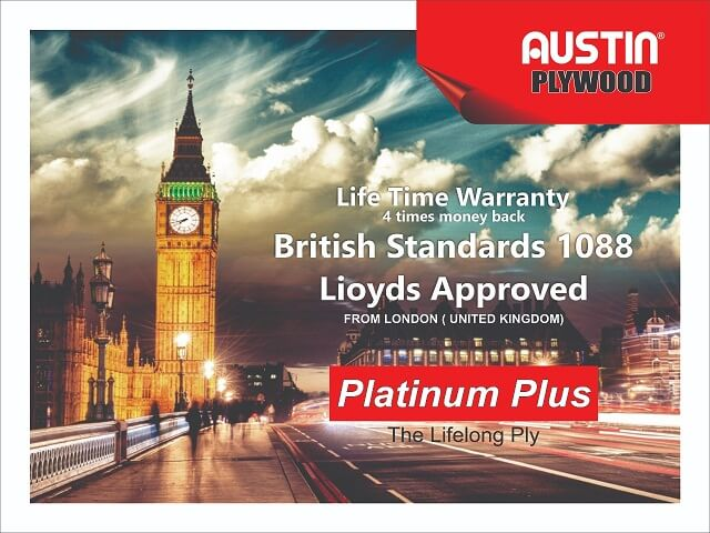 Austin Platinum Plus BS 1088 Plywood