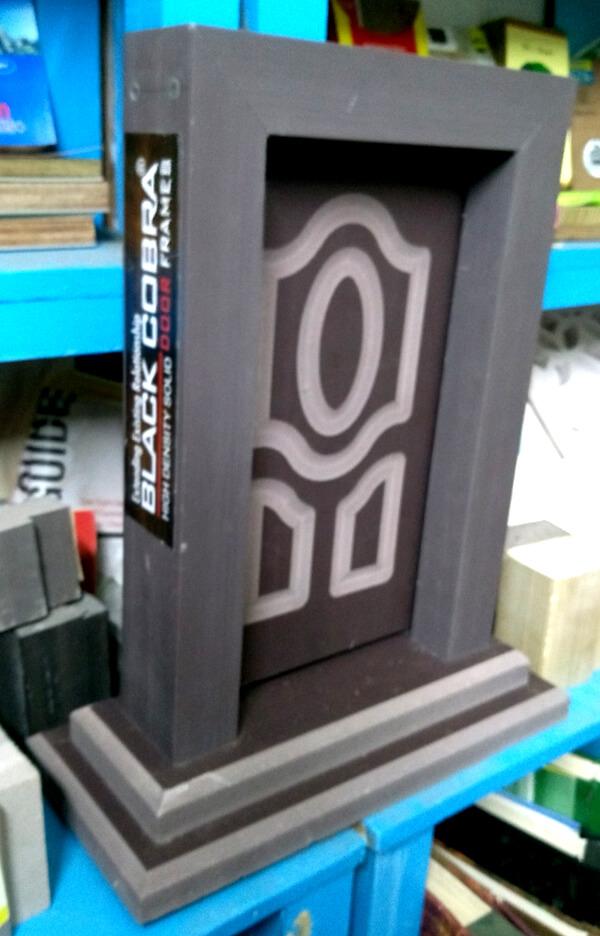 Black Cobra WPC Door Frames