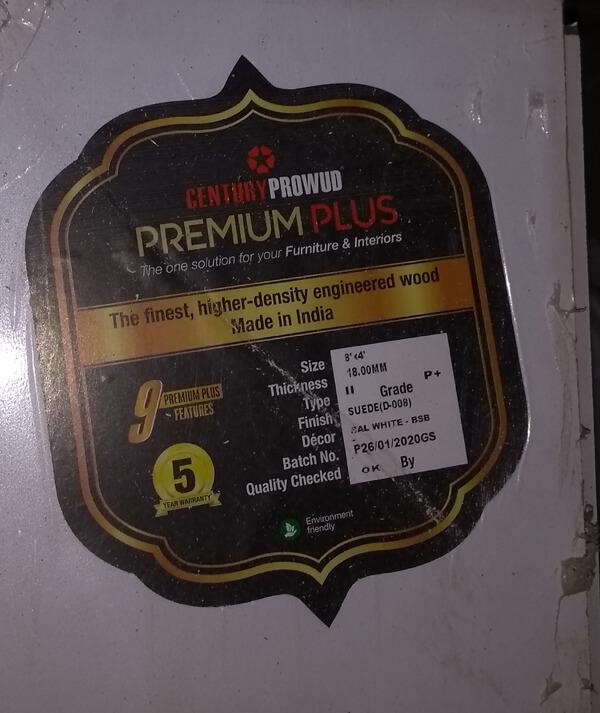 Century Prowud Premium Plus 2
