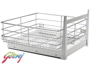 Godrej Grain Trolley Kitchen Basket