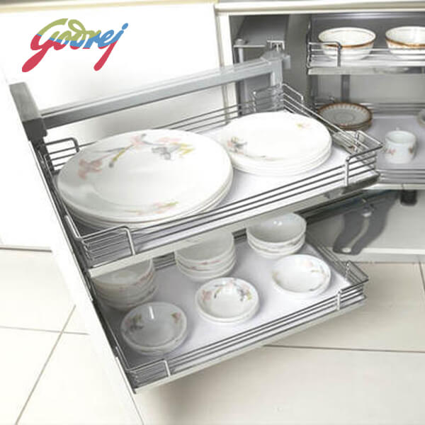 Godrej Magic Corner Kitchen Basket