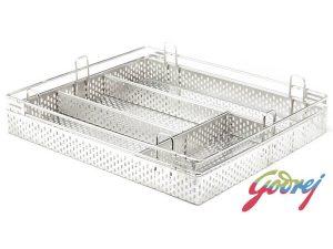 Godrej Perforated Cutlery Kitchen Basket