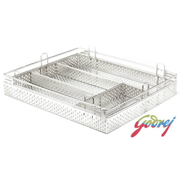 Godrej Perforated Cutlery Kitchen Basket
