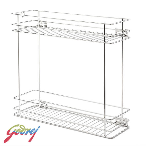 Godrej Two Shelf Pullout Kitchen Basket