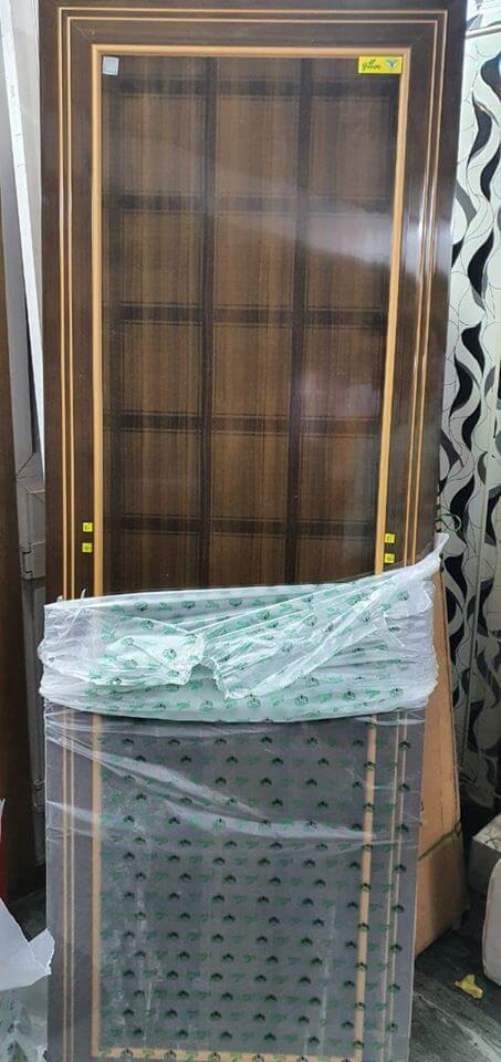 green Ndure PVC Door