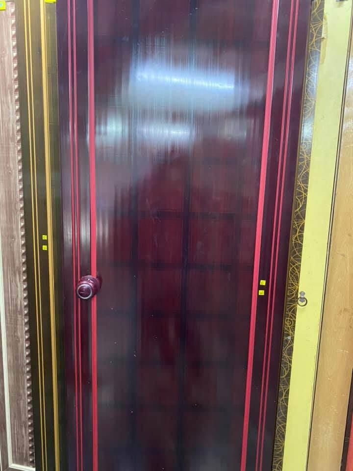 Green Ndure PVC Doors Commandoo- Checkers Paddock 1