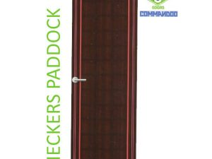 Green Ndure PVC Doors Commandoo- Checkers Paddock