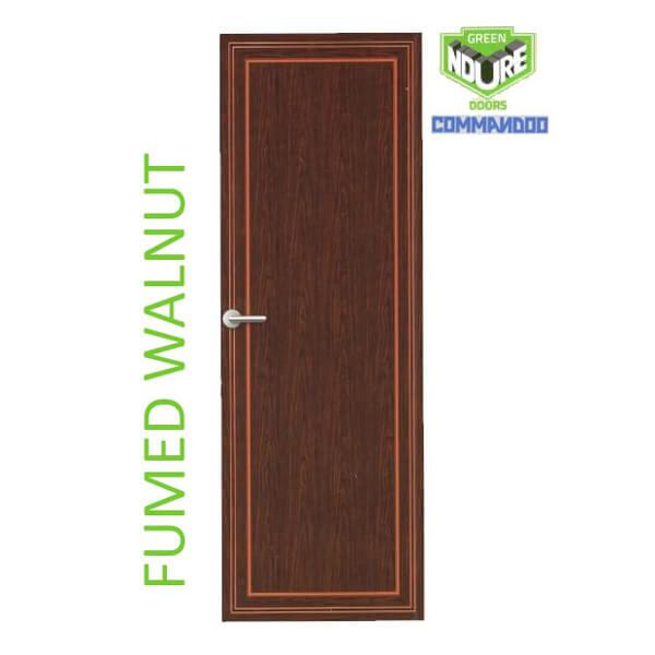Green Ndure PVC Doors Commandoo- Fumed Walut