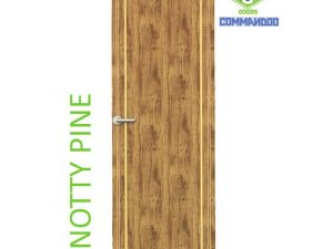 Green Ndure PVC Doors Commandoo- Knotty Pine