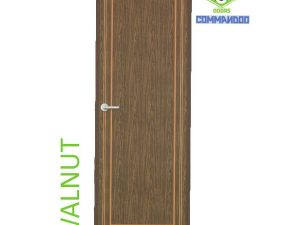 Green Ndure PVC Doors Commandoo- Walnut