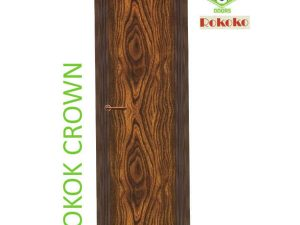 Green Ndure PVC Doors Rokoko- Bokok Crown