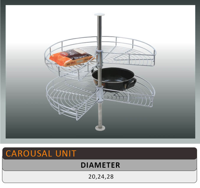 Jaguar Carousal Kitchen Basket