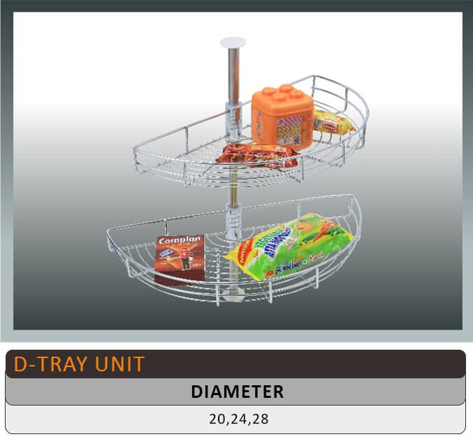 Jaguar D Tray Kitchen Basket