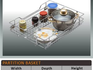 Jaguar Partition Kitchen Baskets