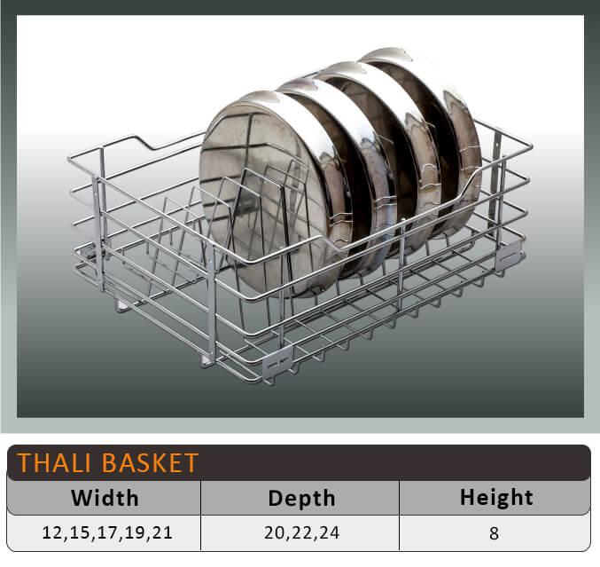 Jaguar Thali Kitchen Baskets