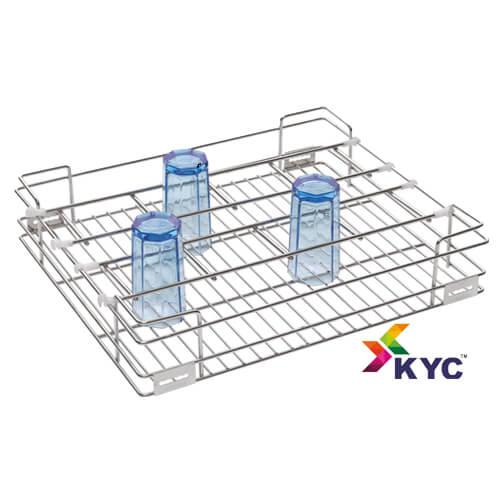 KYC Glass Kitchen Baskets