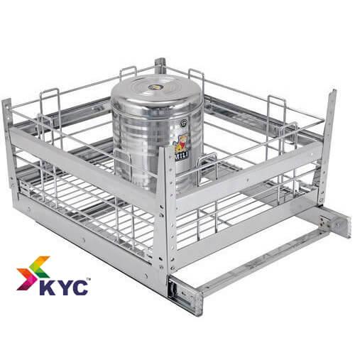 KYC Grain Trolley Kitchen Baskets