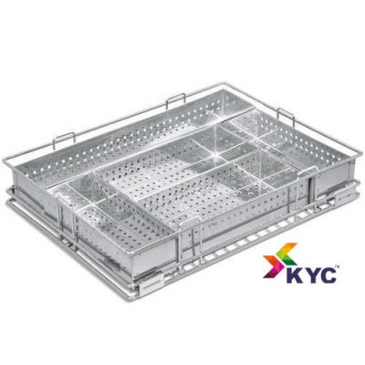 KYC Perforated Cutlery Kitchen Basket