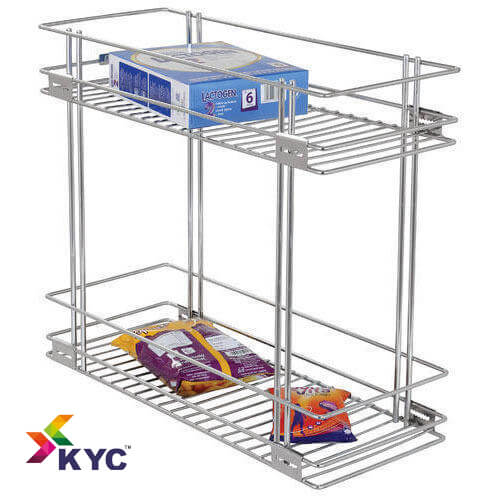 KYC Two Shelf Pullout Kitchen Basket