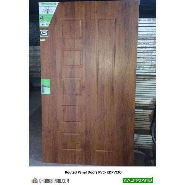 Kalpataru- Routed Panel Doors PVC- KDPVC10