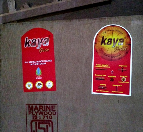 Kaya Gold Ply IS 710 Waterproof Plywood