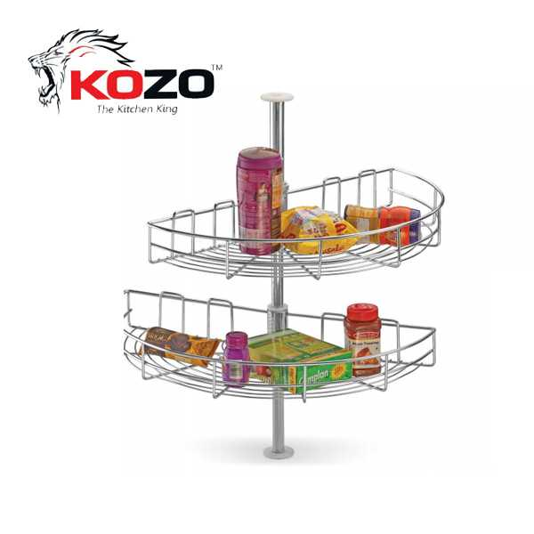 Kozo D Tray Kitchen Basket