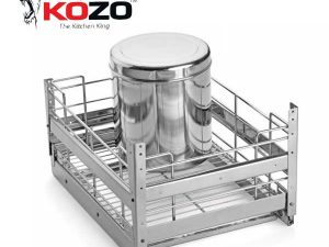 Kozo Grain Trolley Kitchen Baskets
