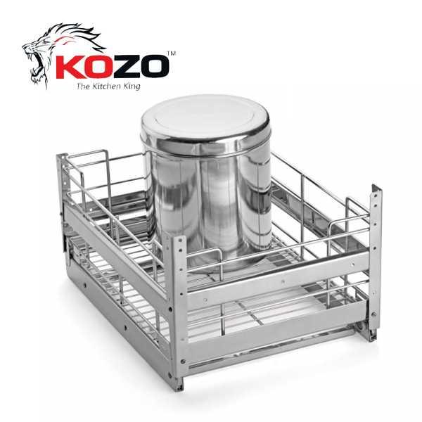 Kozo Grain Trolley Kitchen Baskets
