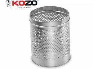 Kozo Perforated Dustbin Kitchen Basket