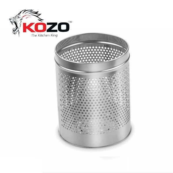 Kozo Perforated Dustbin Kitchen Basket