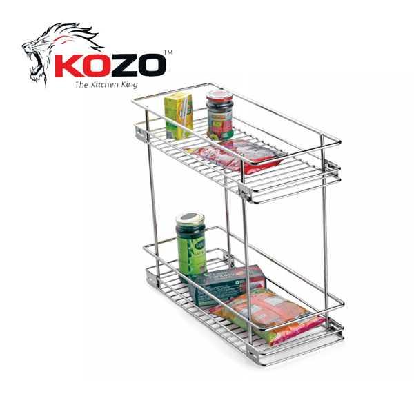 Kozo Two Shelf Pullout Kitchen Basket