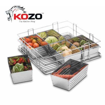 Kozo Vegetable Kitchen Baskets