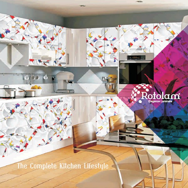 Rotolam Kitchen Digital Laminates