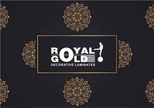 Royal Gold Door Skin Laminate