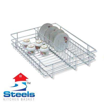 SteelS Cup Saucer Kitchen Basket