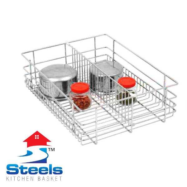 SteelS Partition Kitchen Baskets