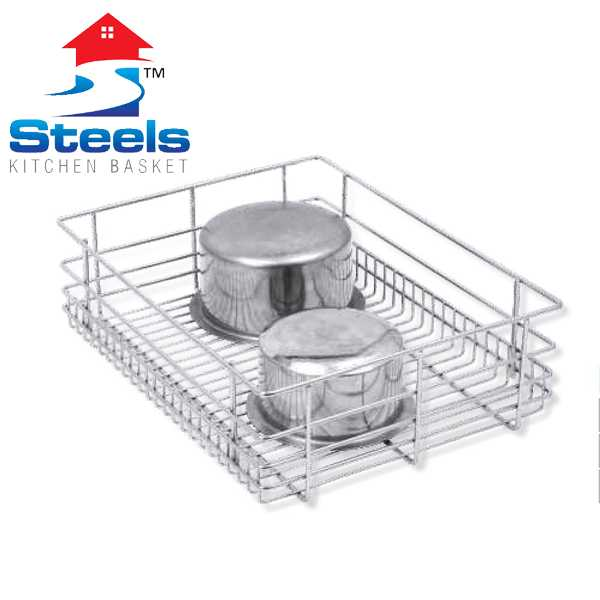 SteelS Plain Kitchen Baskets