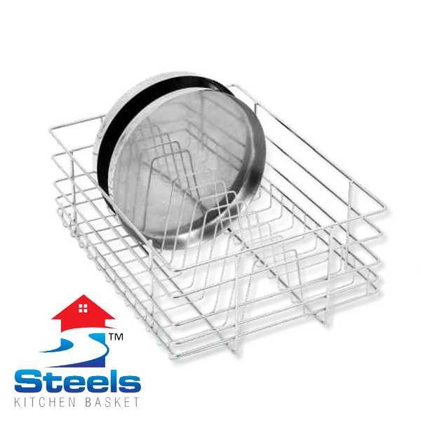 SteelS Thali Kitchen Baskets