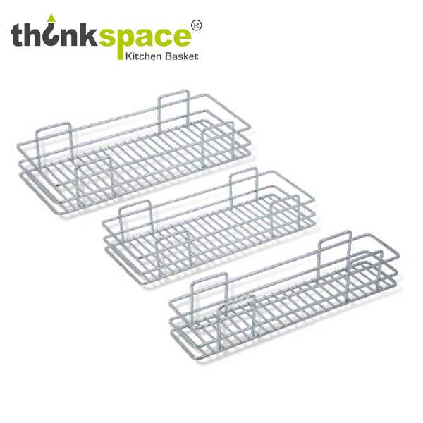 ThinkSpace One Shelf Pullout Kitchen Basket