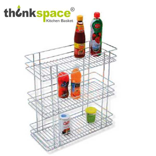 ThinkSpace Three Shelf Pullout Kitchen Basket