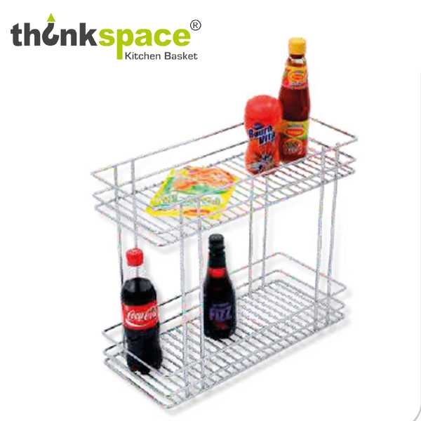 ThinkSpace Two Shelf Pullout Kitchen Basket