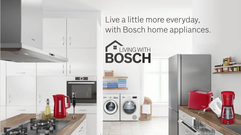 Live with Bosch Banner