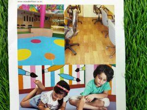 Wonderfloor Vinyl Flooring- Krayons School Flooring